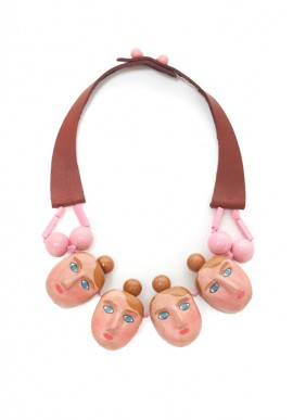 THE SWIMMERS GIRLS NECKLACE