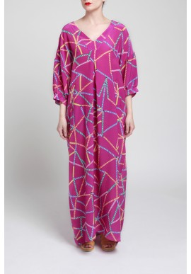GAME OF STRAWS KAFTAN